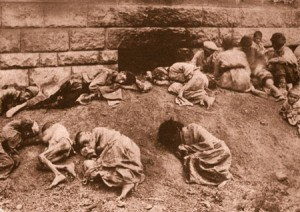 victims of Ottoman oppression during the Armenian Genocide.