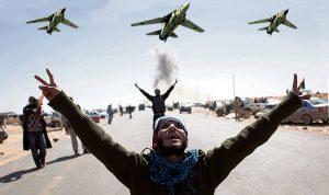 libyan rebels gaddafi planes