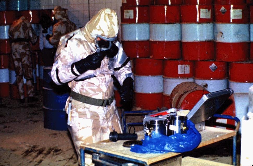 Syria Airstrike Targeted Chemical Weapons Center