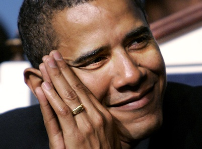 """POTUS Ring: """"There is no God but Allah"""""""
