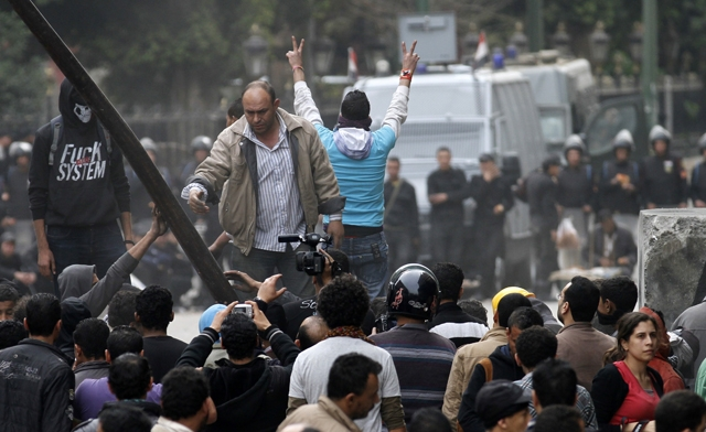 Egypt marks revolution with mass protests against Mursi