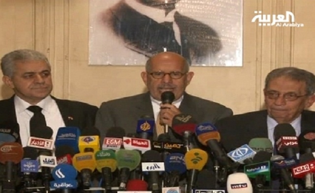 ElBaradei rejects the Islamist president's call for dialogue