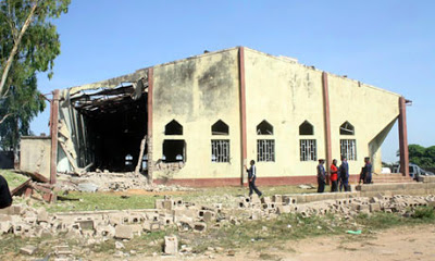 Churches Destroyed by Mali Terrorists