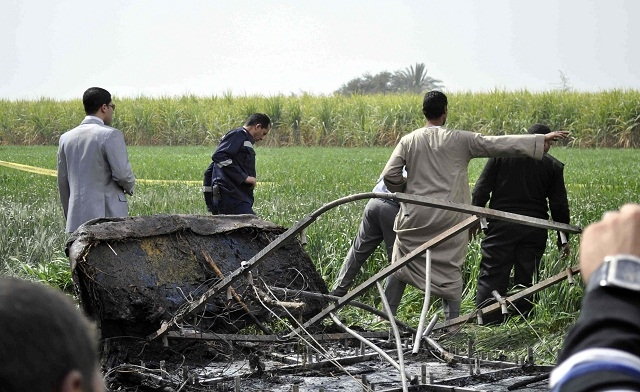 Egypt balloon crash kills 19 Asian, European tourists