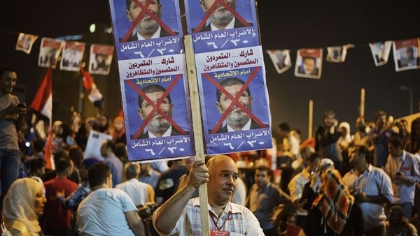 Egypt at boiling point as rivals rally amid fears of bloodshed