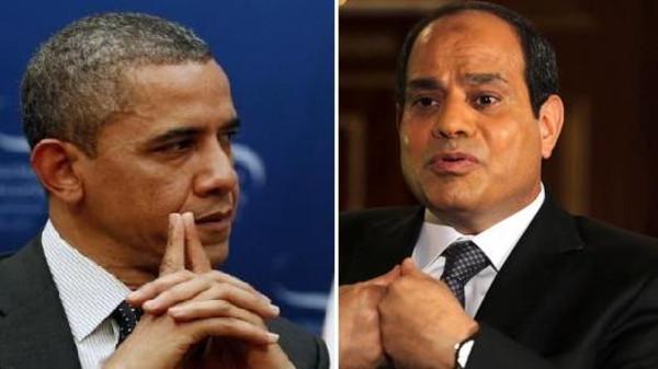 Why did Sisi decline Obama's invitation to Washington?