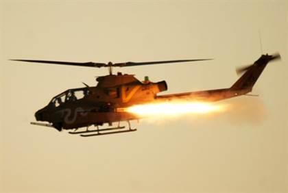 Israel Gave Jordan 26 Cobra Choppers to Fight ISIS