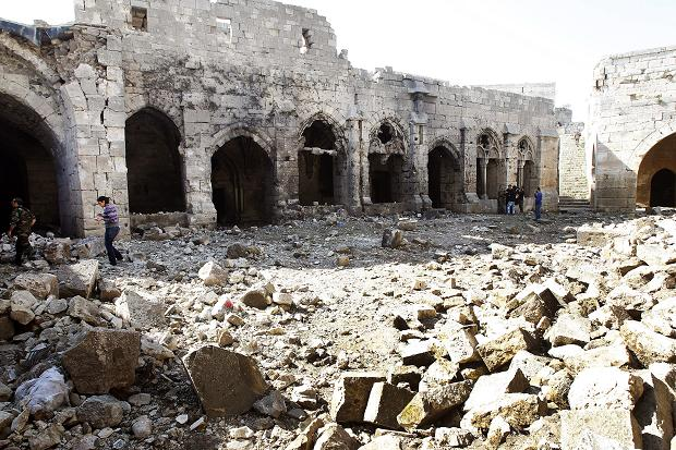 Syrian World Heritage Site Damaged in Blast