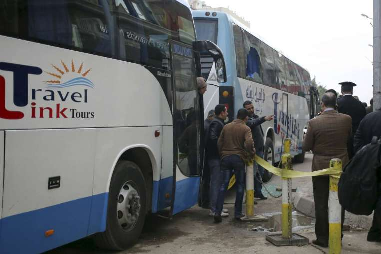 Two Israelis among tourists targeted in Cairo shooting attack