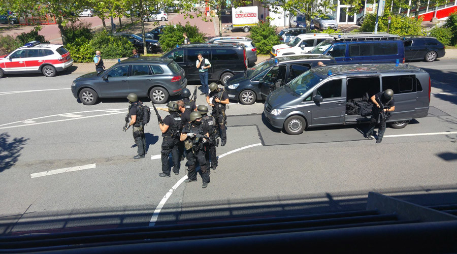 Dozens wounded in German movie theater shooting