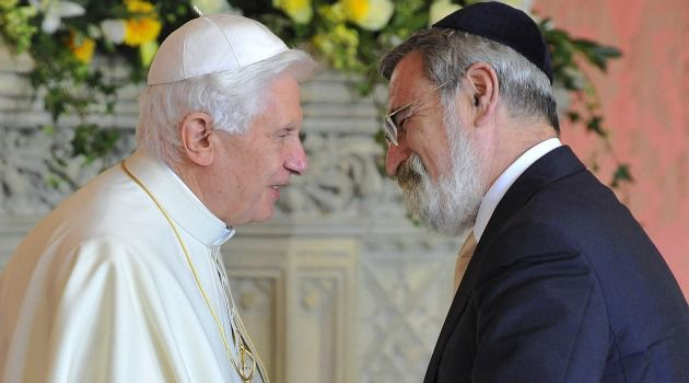 Rabbi Sacks understands Europe better than the Pope