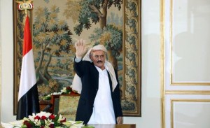 Saleh refuses to step down unless rivals quit power positions in Yemen