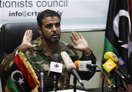 Libyan rebel chief warns Egypt over pro-Qaddafi TV