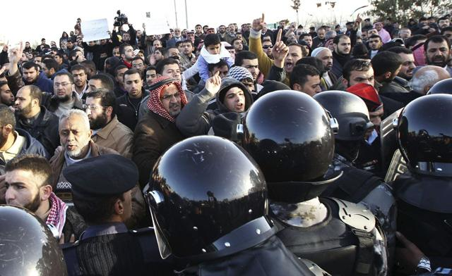 Thousands of Islamists demonstrate in Jordan calling for reform