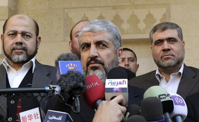 Hamas chief Meshaal makes 'historic' visit to Jordan amid Islamists' praise