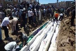Aftermath of Houla massacre