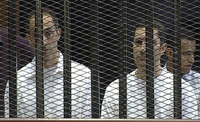 Mubarak's Sons Charged with Insider Trading