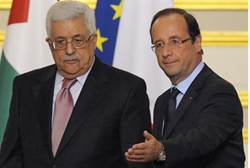 Abbas Will Ask France to Recognize 'Palestine'