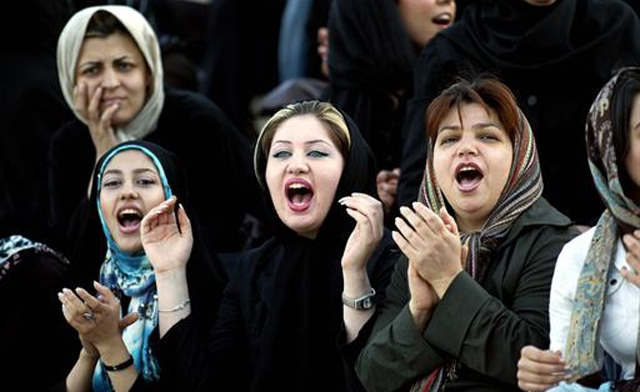 Iran bans women from Euro 2012 screenings