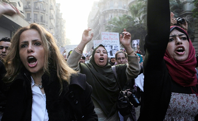 Islamists trying to rid women of attained rights in compliance with Sharia