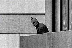 Black September terrorist at 1972 Munich Olympic Games