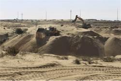 Border fortification near Egypt.