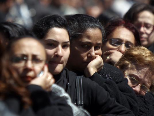 Copts fleeing Rafah