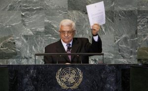 Abbas is going to defy Trump and Netanyahu at the UN