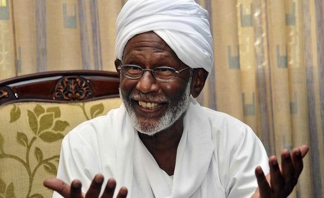 Sudan's Genocidal Muslim Brotherhood Leader and Bin Laden Pal Endorses Obama