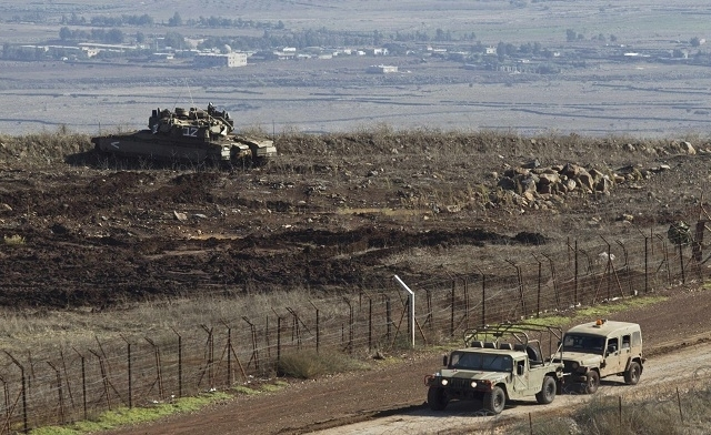Gunfire from Syria hits occupied Golan Heights as fighting lingers