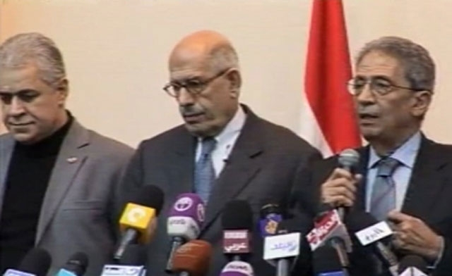 Egypt's top prosecutor orders probe against ElBaradei, Moussa and Sabahi