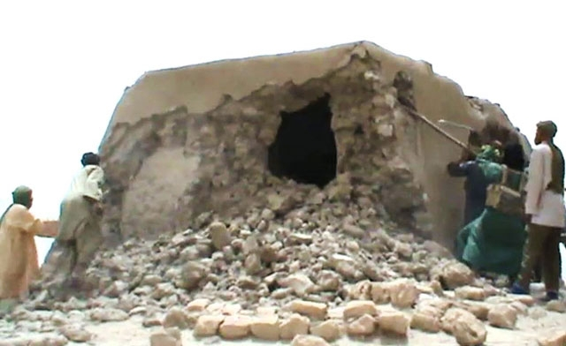 Fabled Timbuktu, ancient desert crossroads in peril