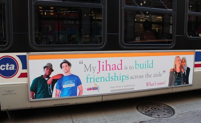 U.S. Muslims to reclaim 'Jihad' with an ad campaign