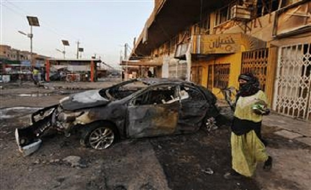 Series of blasts in Iraq's Kirkuk kill 6, wounds 30