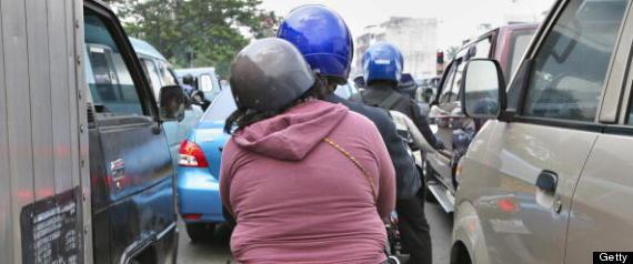 Indonesia Women Motorbike Ban