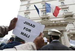 British Islamists During Protest: Islam Will Dominate France