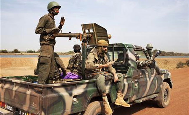 French-led forces retake key north Mali town from Islamists