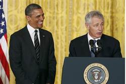 Hagel: Israel is Keeping 'Palestinians Caged Up Like Animals'