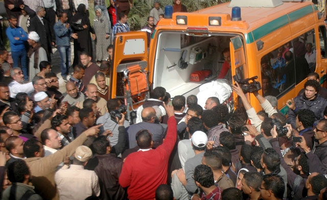 Gunfire scatters mourners at Egypt's Port Said funerals