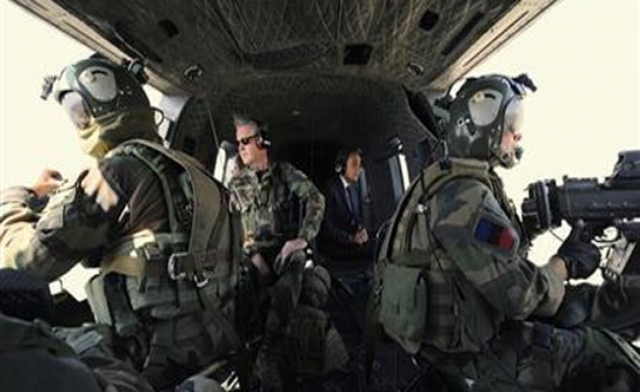 French army begins operations in Mali