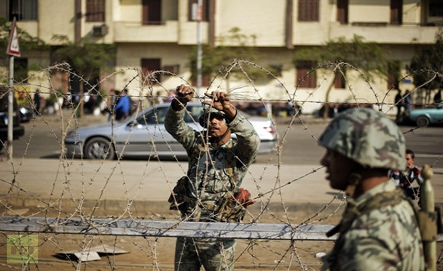 Egypt's senate ratifies law giving army powers of arrest