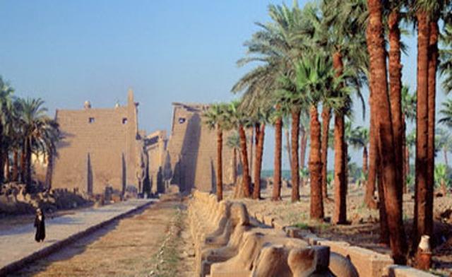 Egypt denies fire broke out at Karnak temple