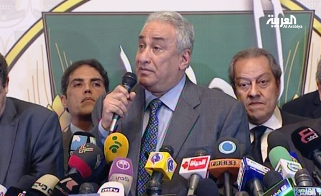 Samih Ashour head of the Lawyers Syndicate and a spokesman for the front Al Arabiya