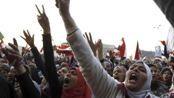 Egypts revolution was marked by severe infringements against womens rights in Tahrir square Reuters