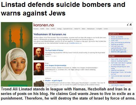 Anti-Semitic Hate-Mongering: Norway as an Example