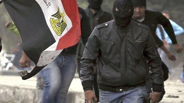 Blak Bloc member Reuters