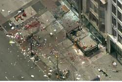 Site of Boston explosion - Reuters