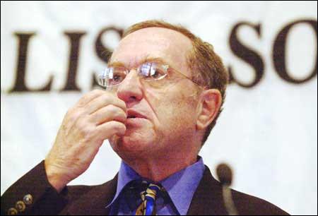 Open Letter to Professor Alan Dershowitz