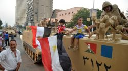 Egyptian military moved into Cairo