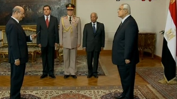 Egypt's Interim President Promises Elections Within 7 Months